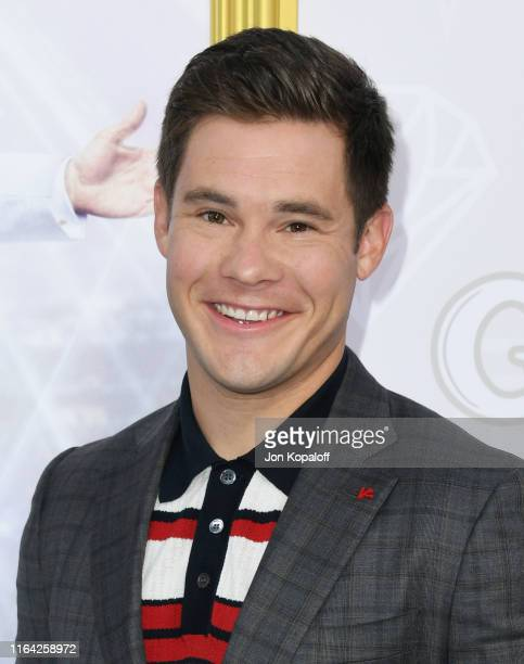 Adam DeVine attends the Los Angeles Premiere Of New HBO Series The Righteous Gemstones at Paramount Studios on July 25 2019 in Hollywood California