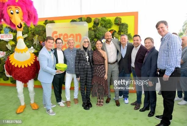 Adam DeVine, Jared Stern, Ellen DeGeneres, Diane Keaton, Ilana Glazer, Keegan-Michael Key, Netflix Chief Content Officer Ted Sarandos, Ted Biaselli,...