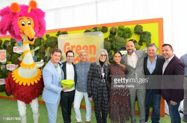 Adam DeVine, Jared Stern, Ellen DeGeneres, Diane Keaton, Ilana Glazer, Keegan-Michael Key Netflix Chief Content Officer Ted Sarandos, and Ted...