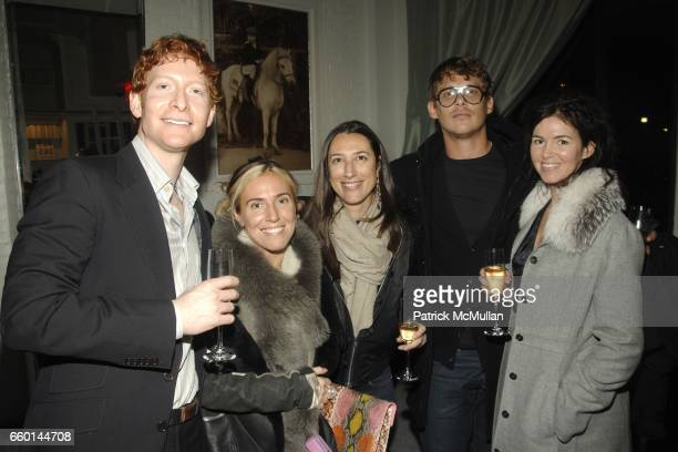 Adam Devine Marni Sean Spellman and Laura Mannix attend HUNTING SEASON at EDON MANOR Hosted by Kathryn Neale Shaffer and Alexandra Fritz at Edon...