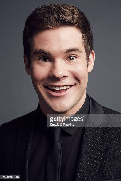 Adam DeVine poses for a portrait at the 2016 People's Choice Awards at the Microsoft Theater on January 6 2016 in Los Angeles California