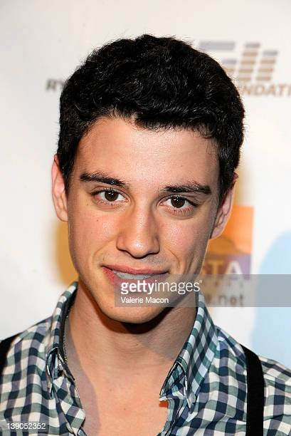 Adam DiMarco arrives at Disney Channel's Radio Rebel at AMC CityWalk Stadium 19 at Universal Studios Hollywood on February 15 2012 in Universal City...