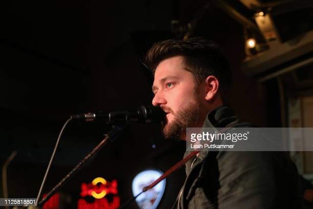 Adam Doleac performs at the 8th Annual Whiskey Jam Concert at Winners Bar on January 28 2019 in Nashville Tennessee