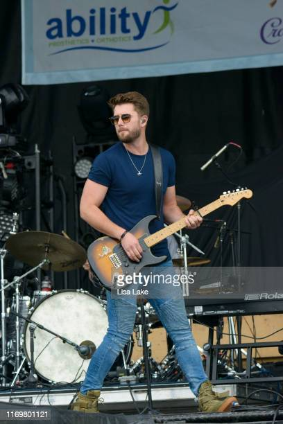 Adam Doleac performs during the Citadel Country Spirit USA Festival at Ludwig's Corner Horse Show Grounds on August 23 2019 in Glenmoore Pennsylvania