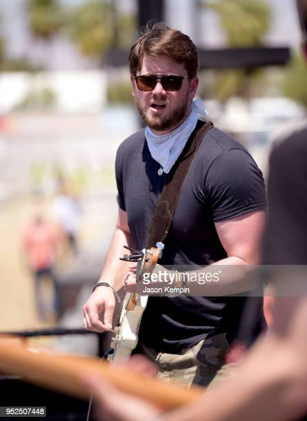 Adam Doleac performs onstage during 2018 Stagecoach California's Country Music Festival at the Empire Polo Field on April 28 2018 in Indio California