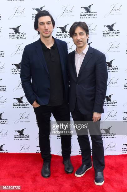 Adam Driver and Noah Baumbach attend the Screenwriters Tribute at the 2018 Nantucket Film Festival Day 4 on June 23 2018 in Nantucket Massachusetts