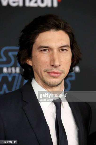 "Adam Driver arrives for the World Premiere of ""Star Wars: The Rise of Skywalker"", the highly anticipated conclusion of the Skywalker saga on December..."