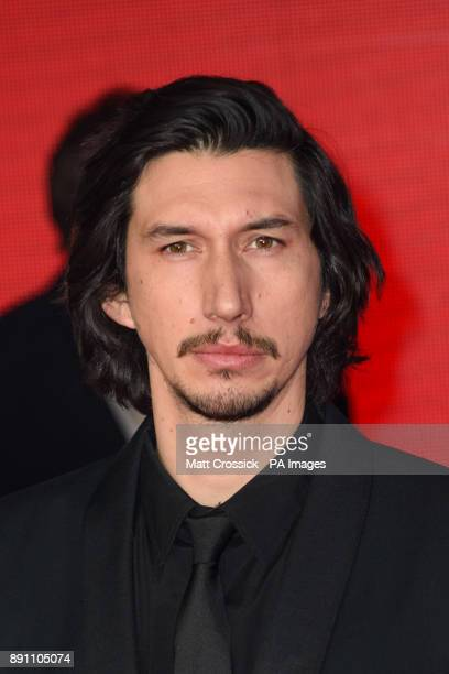 Adam Driver attending the european premiere of Star Wars The Last Jedi held at The Royal Albert Hall London Picture date Tuesday December 12 2017 See...