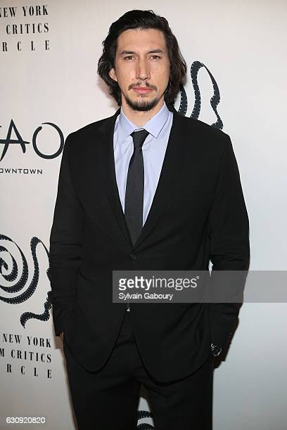Adam Driver attends 2016 New York Film Critics Circle Awards on January 3 2017 in New York City