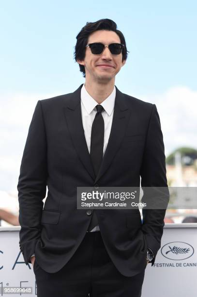 Adam Driver attends 'BlacKkKlansman' Photocall during the 71st annual Cannes Film Festival at Palais des Festivals on May 15 2018 in Cannes France