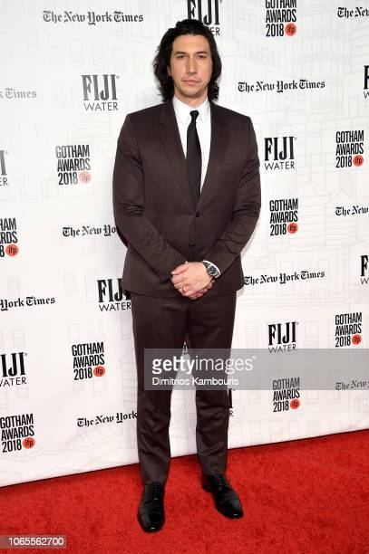 Adam Driver attends IFP's 28th Annual Gotham Independent Film Awards at Cipriani Wall Street on November 26 2018 in New York City