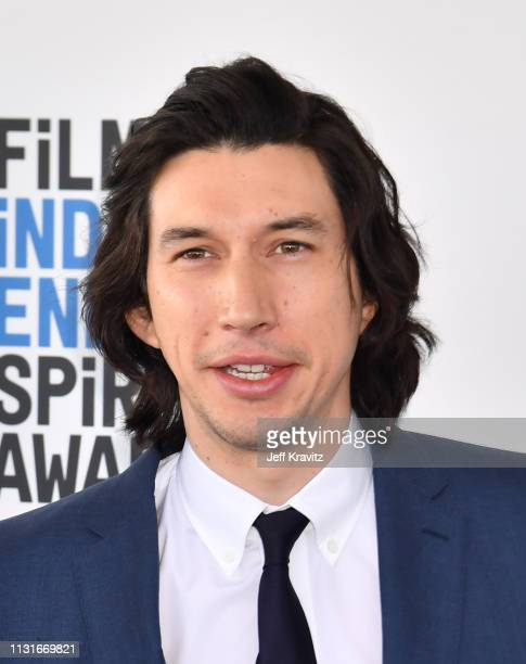 Adam Driver attends the 2019 Film Independent Spirit Awards on February 23 2019 in Santa Monica California