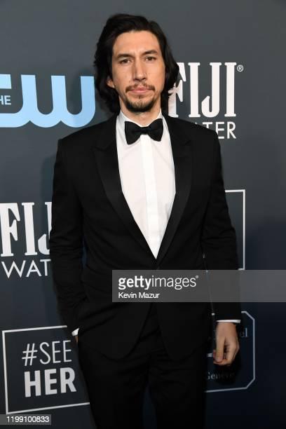 Adam Driver attends the 25th Annual Critics' Choice Awards at Barker Hangar on January 12, 2020 in Santa Monica, California.