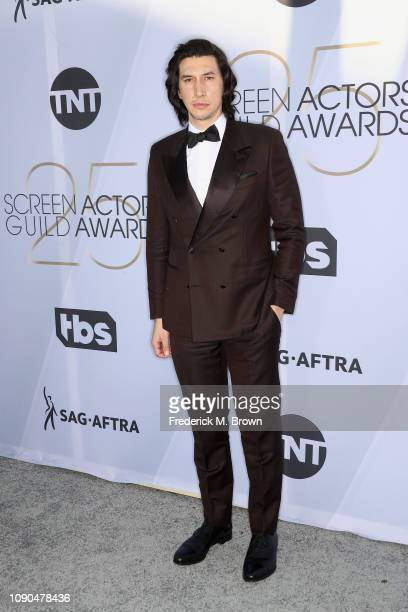 Adam Driver attends the 25th Annual Screen Actors Guild Awards at The Shrine Auditorium on January 27 2019 in Los Angeles California 480695
