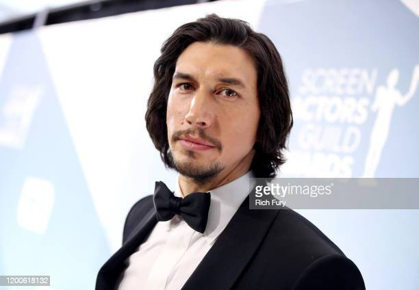 Adam Driver attends the 26th Annual Screen Actors Guild Awards at The Shrine Auditorium on January 19 2020 in Los Angeles California