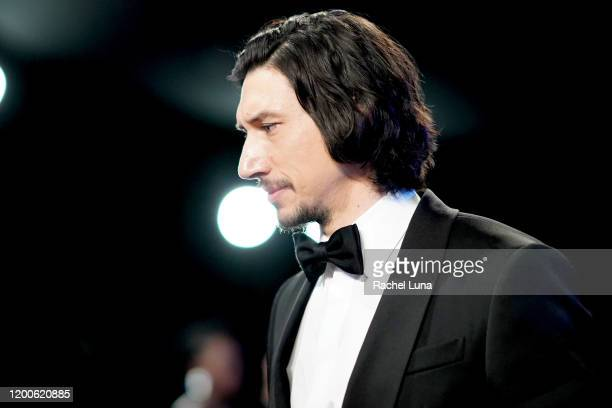 Adam Driver attends the 26th Annual Screen Actors Guild Awards at The Shrine Auditorium on January 19, 2020 in Los Angeles, California.
