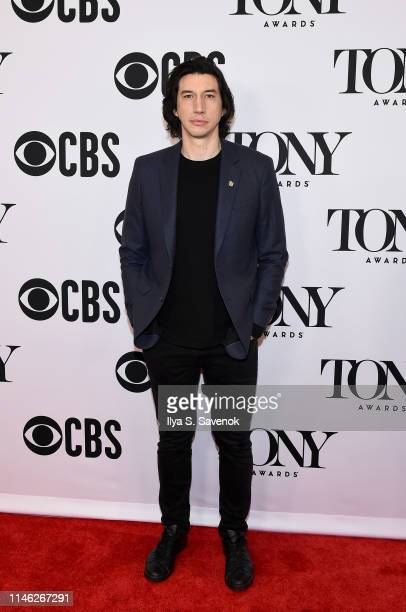 Adam Driver attends The 73rd Annual Tony Awards Meet The Nominees Press Day at Sofitel New York on May 01, 2019 in New York City.
