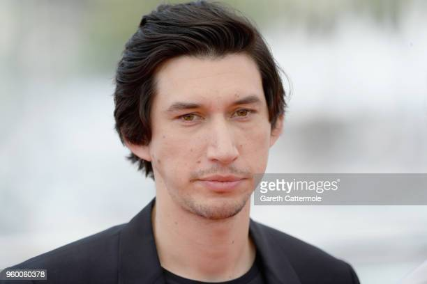 Adam Driver attends 'The Man Who Killed Don Quixote' Photocall during the 71st annual Cannes Film Festival at Palais des Festivals on May 19 2018 in...