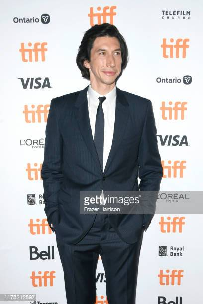 """Adam Driver attends the """"Marriage Story"""" premiere during the 2019 Toronto International Film Festival at Winter Garden Theatre on September 08, 2019..."""