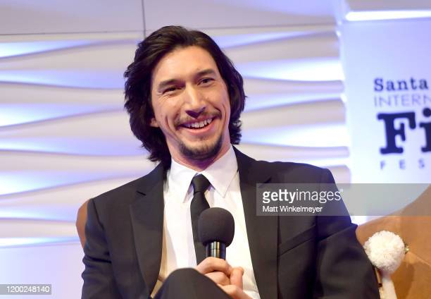 Adam Driver attends the Outstanding Performers Of The Year Award Honoring Scarlett Johansson And Adam Driver Presented by Belvedere Vodka during the...