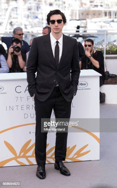 Adam Driver attends the photocall for the 'BlacKkKlansman' during the 71st annual Cannes Film Festival at Palais des Festivals on May 15 2018 in...