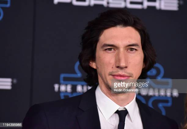 Adam Driver attends the Premiere of Disney's Star Wars The Rise Of Skywalker on December 16 2019 in Hollywood California