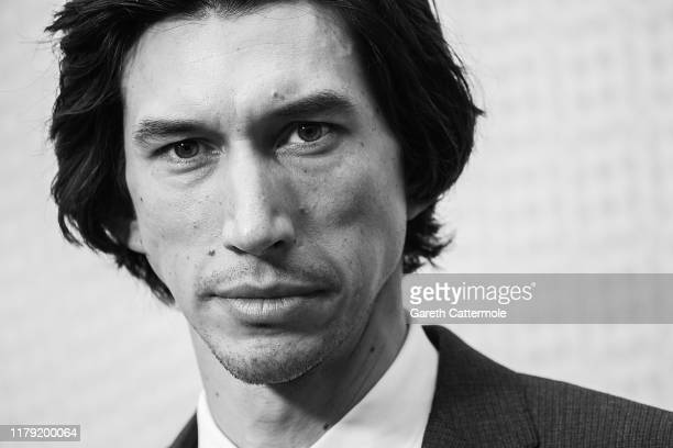 "Adam Driver attends ""The Report"" European Premiere during the 63rd BFI London Film Festival at Embankment Gardens Cinema on October 05, 2019 in..."