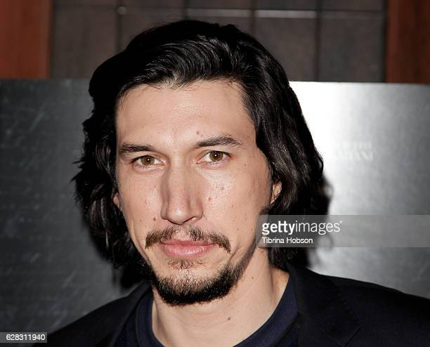 Adam Driver attends the Screening of Amazon Studios 'Paterson' at the Vista Theatre on December 6 2016 in Los Angeles California