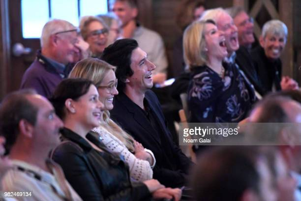 Adam Driver attends the Screenwriters Tribute at the 2018 Nantucket Film Festival Day 4 on June 23 2018 in Nantucket Massachusetts
