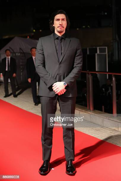 Adam Driver attends the 'Star Wars The Last Jedi' Japan Premiere Red Carpet at Roppongi Hills on December 6 2017 in Tokyo Japan