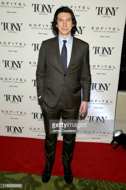 Adam Driver attends the Tony Honors Cocktail Party Presenting The 2019 Tony Honors For Excellence In The Theatre And Honoring The 2019 Special Award...