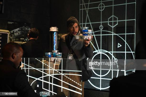 LIVE Adam Driver Episode 1778 Pictured Host Adam Driver as Kylo Ren during the Undercover Boss Where Are They Now sketch on Saturday January 25 2020