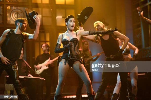 LIVE Adam Driver Episode 1778 Pictured Musical guest Halsey performs You Should Be Sad on Saturday January 25 2020