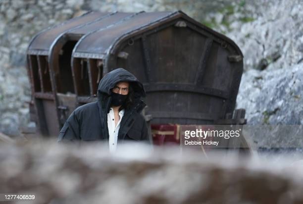 Adam Driver leaving the set of the film 'The Last Duel' on September 29, 2020 in Cahir, Co.Tipperary.