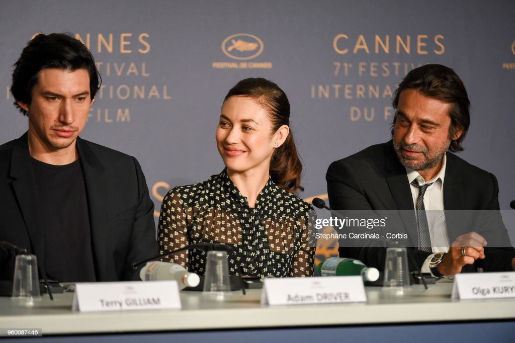 """The Man Who Killed Don Quixote"" Press Conference - The 71st Annual Cannes Film Festival"