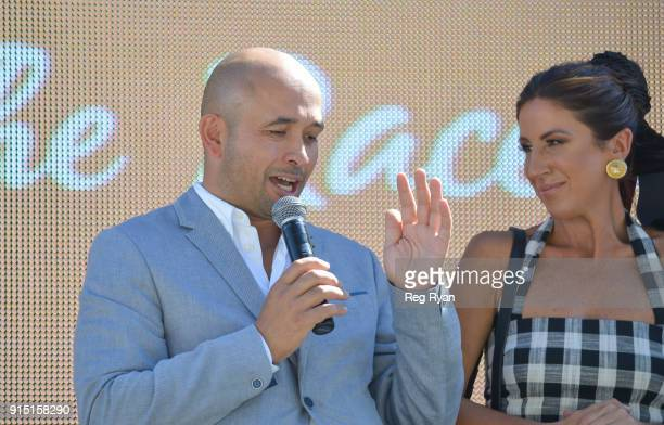 Adam D'Sylva The Festival of Racing Launch at The Common Lawn at South Wharf on February 07 2018 in Melbourne Australia