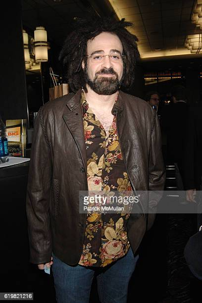 Adam Duritz attends THE CINEMA SOCIETY and MULBERRY host a screening of SYNECDOCHE NEW YORK at AMC Loews 19th Street East on October 15 2008 in New...