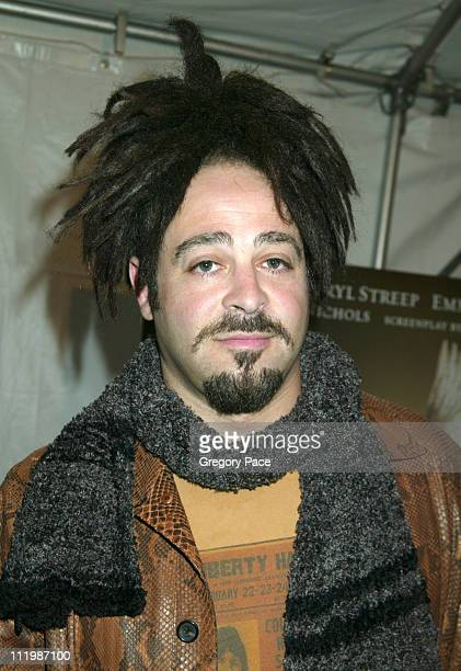 Adam Duritz, lead singer of the group Counting Crows