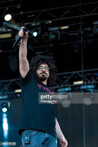 Adam Duritz of Counting Crows performs on Day 3 of the NOS Alive Festival on July 11 2015 in Lisbon Portugal