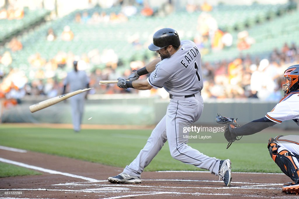Chicago White Sox v Baltimore Orioles : Nachrichtenfoto