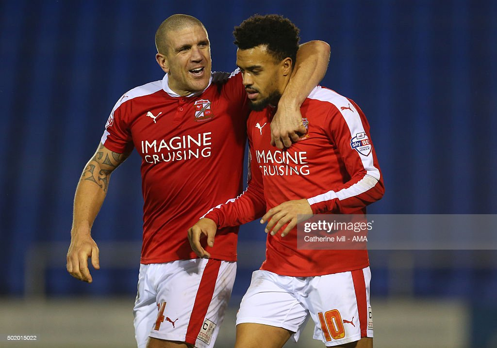 Shrewsbury Town v Swindon Town - Sky Bet League One : News Photo