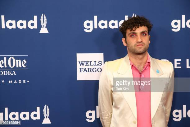 Adam Eli attends the 29th Annual GLAAD Media Awards at Mercury Ballroom at the New York Hilton on May 5 2018 in New York City