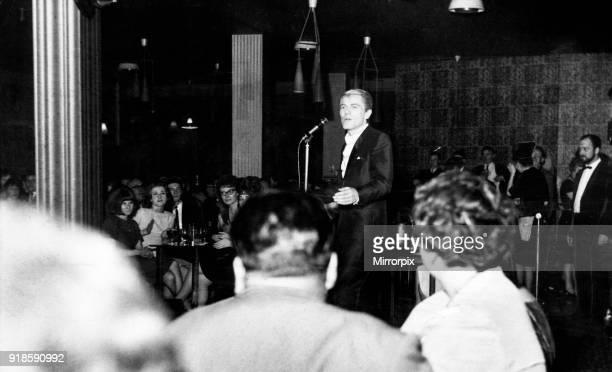 Adam Faith performs at the Dolce Vita Club Newcastle 1st December 1964