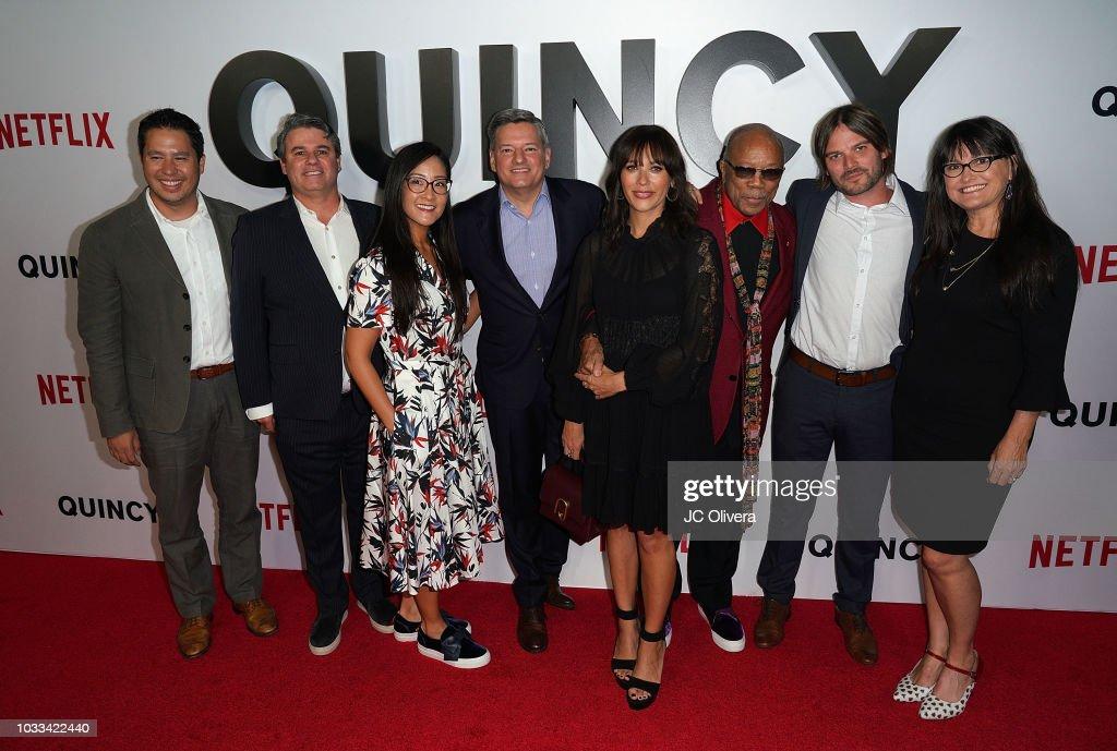 "Premiere Of Netflix's ""Quincy"" - Arrivals"