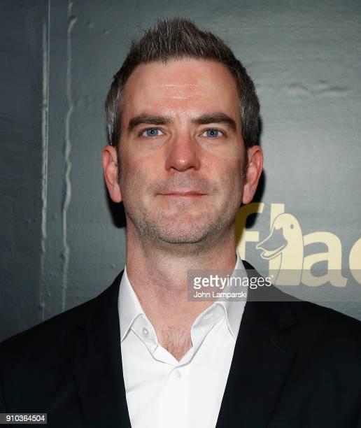 Adam Foley attends 2018 Billboard Power 100 List at Nobu 57 on January 25 2018 in New York City