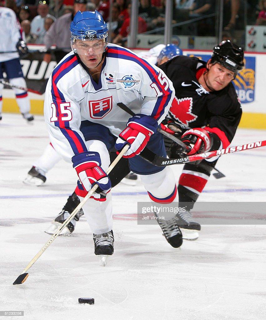 WC of Hockey: Canada v USA : News Photo