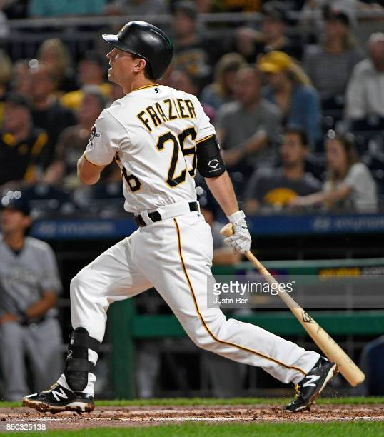 Milwaukee Brewers V Pittsburgh Pirates: Adam Frazier Stock Photos And Pictures