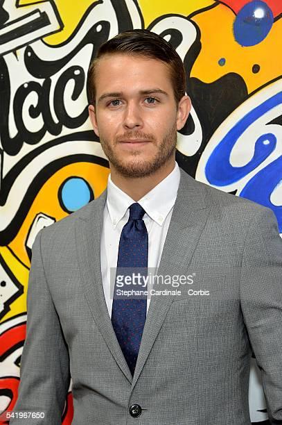 Adam Gallagher attends the Montblanc Urban Spirit Launch on June 21 2016 in Paris France