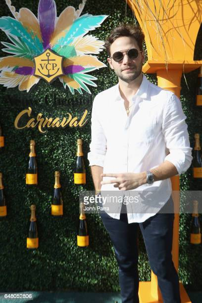 Adam Gallagher attends the Third Annual Veuve Clicquot Carnaval at Museum Park on March 4 2017 in Miami Florida