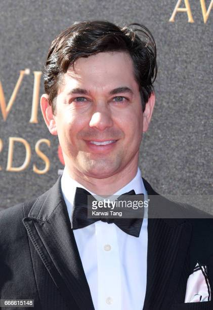 Adam Garcia arrives for The Olivier Awards 2017 at the Royal Albert Hall on April 9 2017 in London England
